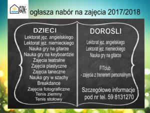 zajęcia 2017-2